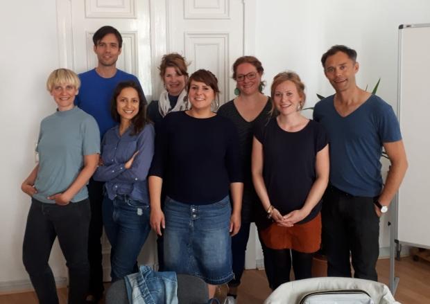 Gruppenbild aller 8 Kinder-aus-der-Klemme-Team Mitglieder
